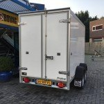Proline koelaanhanger 300x146x180cm 2500kg Aanhangwagens Zuid-Holland 2.0 achter dicht
