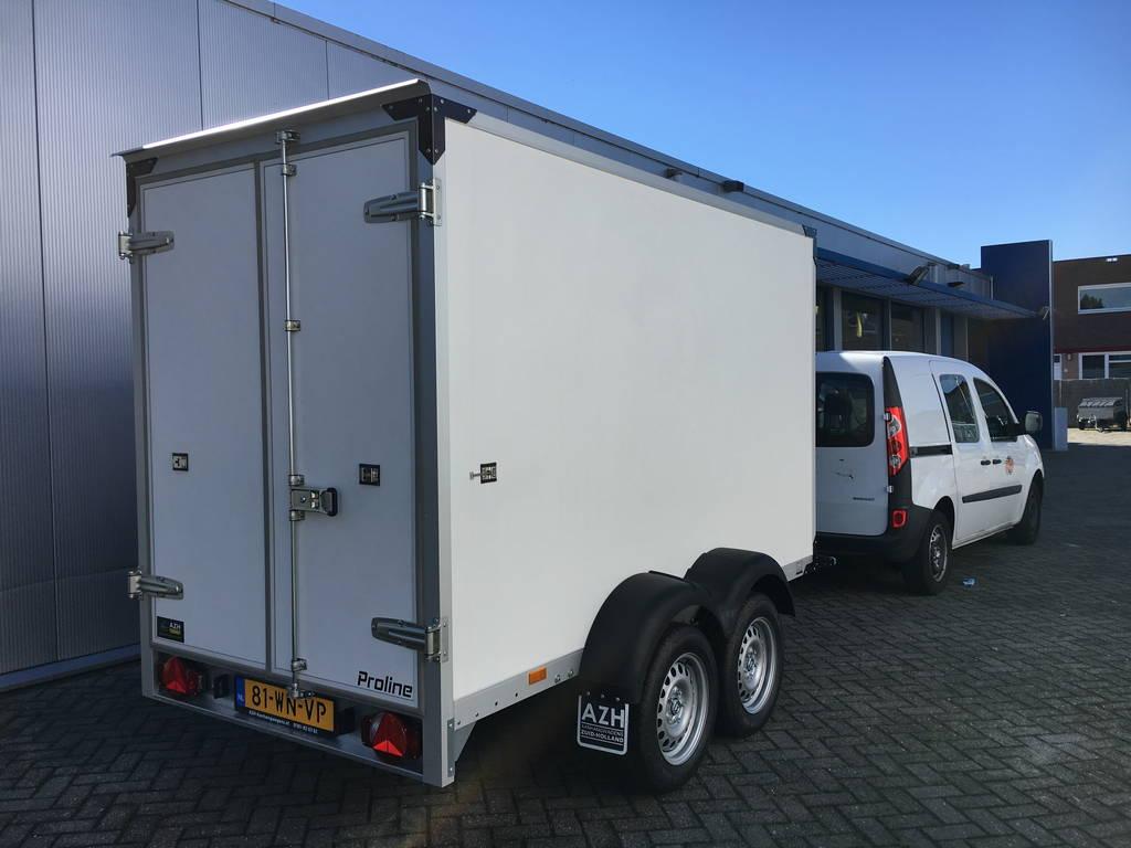 Proline koelaanhanger 300x146x180cm 2500kg Aanhangwagens Zuid-Holland 2.0 praktijk