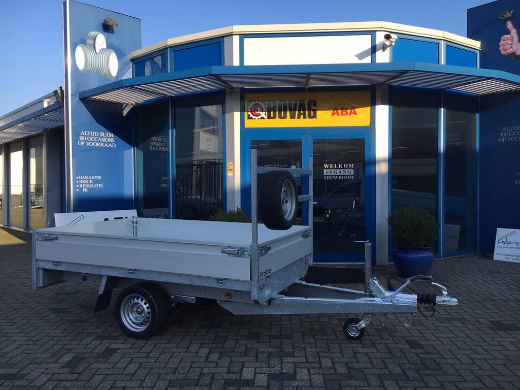 Proline plateau 251x155cm 1350kg plateauwagens Aanhangwagens Zuid-Holland zijkant