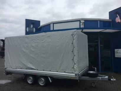 Proline plateauwagen met huif huif aanhangwagen Aanhangwagens Zuid-Holland hoofd 2.0