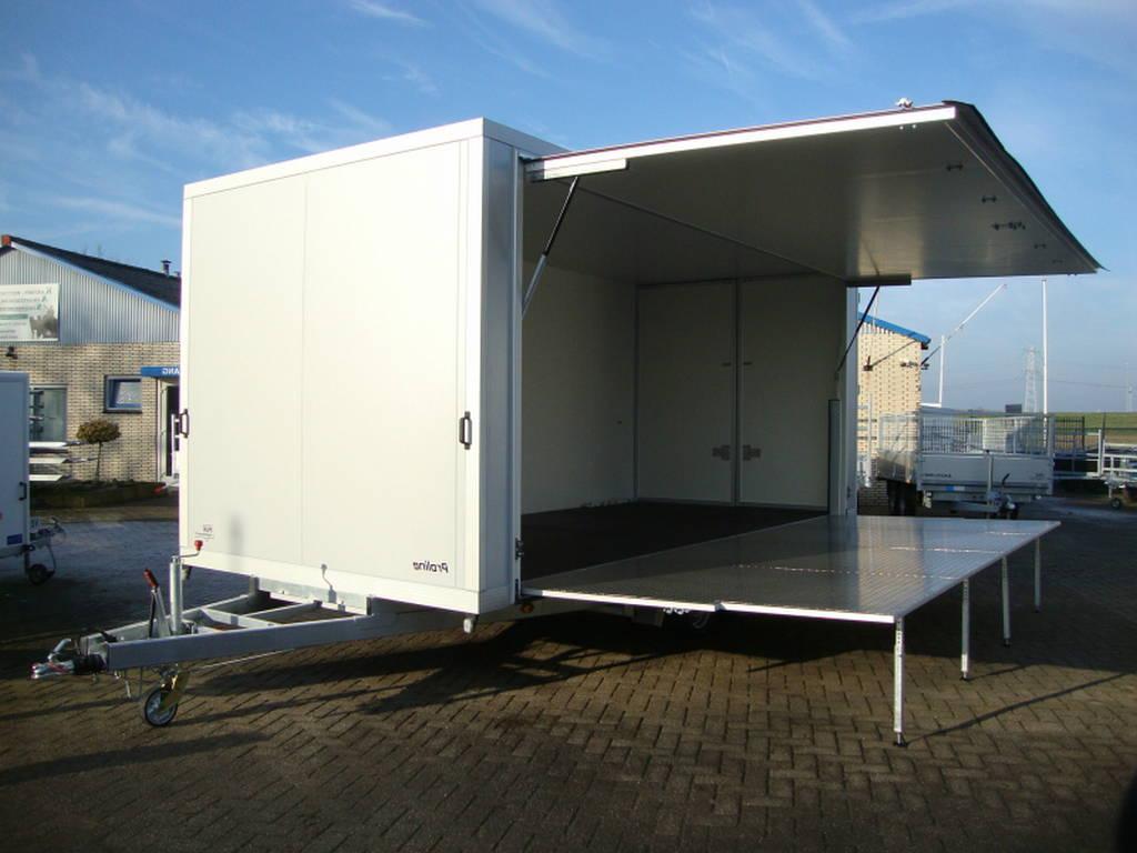 Proline podiumwagen 550x200x200cm verkoopwagens Aanhangwagens Zuid-Holland hoofd