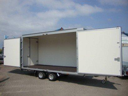 Proline presentatiewagen 450x200x200cm Aanhangwagens Zuid-Holland hoofd