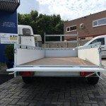 Proline tandemas alu 305x131cm bakwagens tandemas Aanhangwagens Zuid-Holland achter open