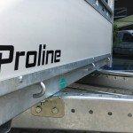 Proline tandemas alu 305x131cm bakwagens tandemas Aanhangwagens Zuid-Holland aluminium