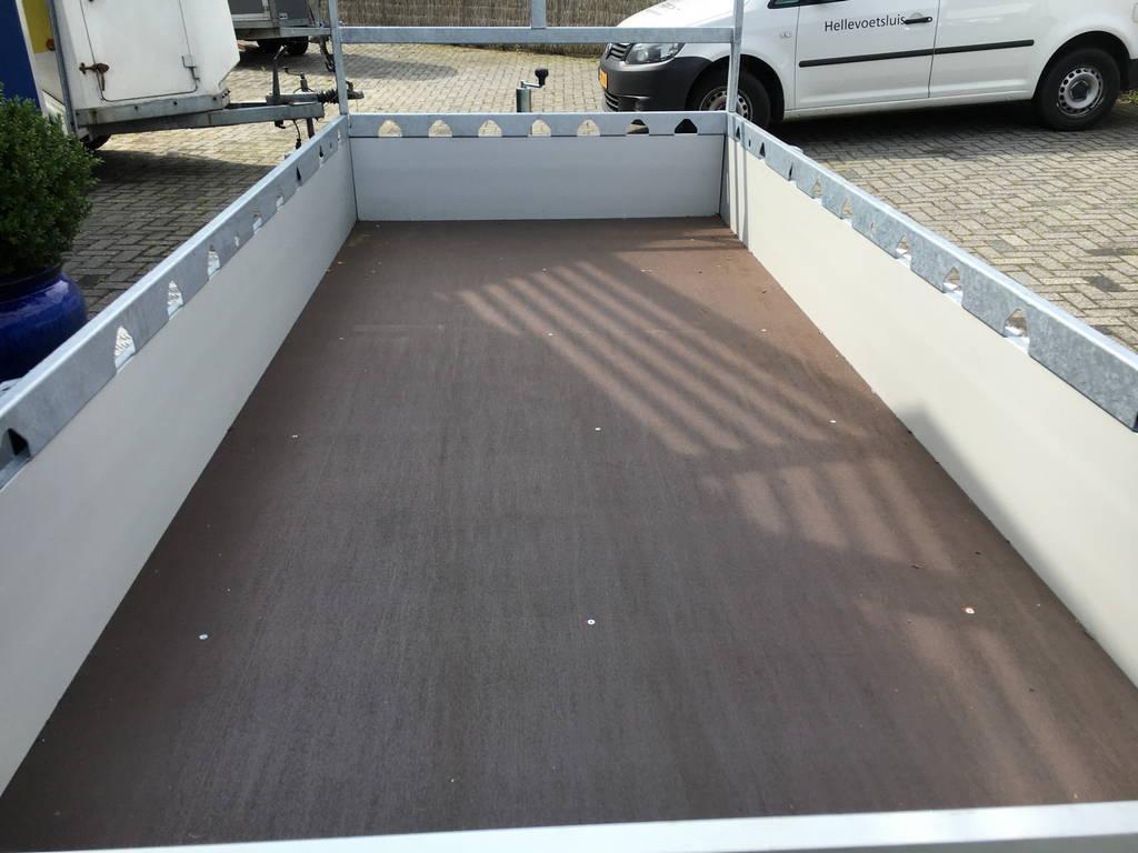 Proline tandemas alu 305x131cm bakwagens tandemas Aanhangwagens Zuid-Holland bak