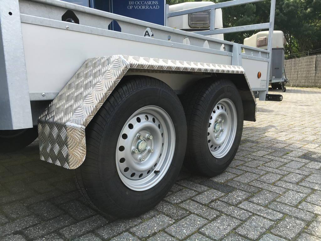 Proline tandemas alu 305x131cm bakwagens tandemas Aanhangwagens Zuid-Holland dubbele as