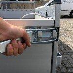 Proline tandemas alu 305x131cm bakwagens tandemas Aanhangwagens Zuid-Holland sluiting
