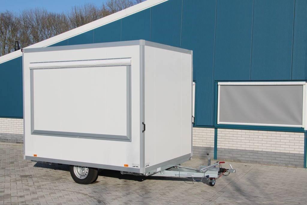 Proline verkoopwagen 294x211x230cm Aanhangwagens Zuid-Holland gesloten