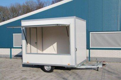 Proline verkoopwagen 294x211x230cm Aanhangwagens Zuid-Holland hoofd