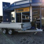Proline verlaagd 301x185cm 2700kg plateauwagen Aanhangwagens Zuid-Holland 3.0 hoofd