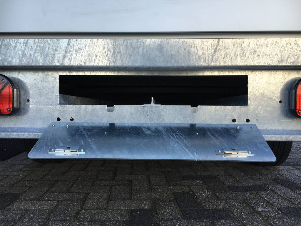 Proline verlaagd 301x185cm 2700kg plateauwagen Aanhangwagens Zuid-Holland 3.0 sledes