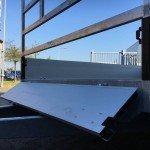 Proline verlaagd 301x185cm 2700kg plateauwagen Aanhangwagens Zuid-Holland 3.0 voorbord