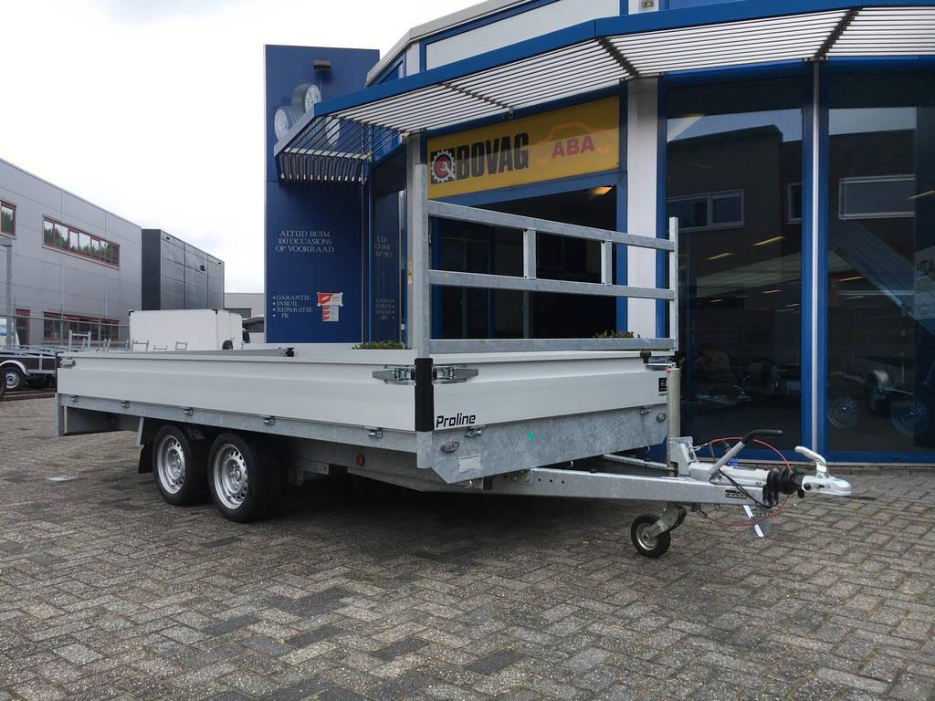 Proline verlaagd 401x202cm 3500kg plateauwagens Aanhangwagens Zuid-Holland 2.0 hoofd