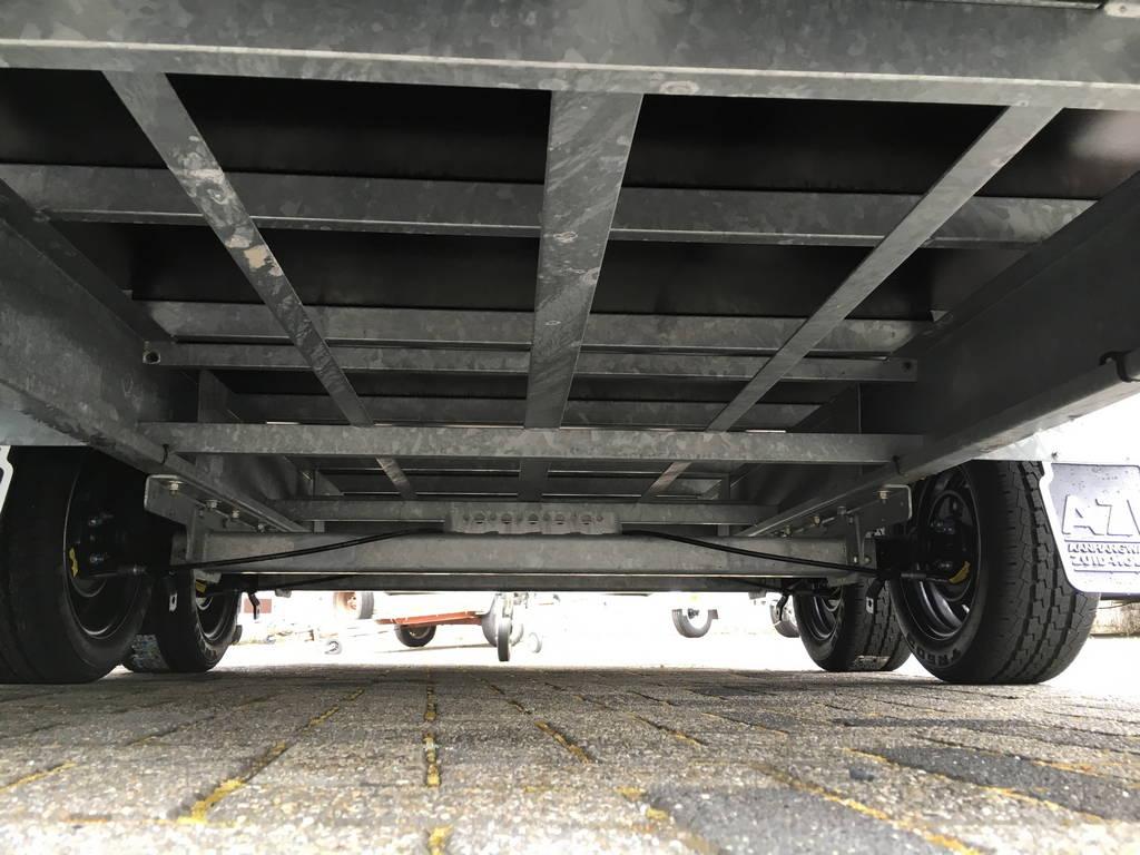 Proline verlaagd 401x202cm 3500kg plateauwagens Aanhangwagens Zuid-Holland 2.0 onderstel