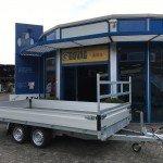 Proline verlaagd 401x202cm 3500kg plateauwagens Aanhangwagens Zuid-Holland 2.0 overzicht
