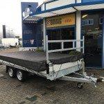 Proline verlaagd 401x202cm 3500kg plateauwagens Aanhangwagens Zuid-Holland 2.0 overzicht net