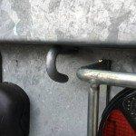 Proline verlaagd 401x202cm 3500kg plateauwagens Aanhangwagens Zuid-Holland 2.0 touwhaken