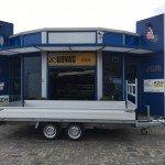 Proline verlaagd 401x202cm 3500kg plateauwagens Aanhangwagens Zuid-Holland 2.0 zijkant