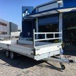 Proline verlaagd 503x202cm 2700kg plateauwagens Aanhangwagens Zuid-Holland overzicht 2.0