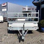 Proline verlaagd 503x202cm 2700kg plateauwagens Aanhangwagens Zuid-Holland voorkant 2.0