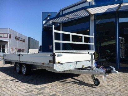 Proline 612x218cm 3500kg plateauwagens Aanhangwagens Zuid-Holland hoofd 2.0