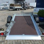 Proline zakbare motortrailer 260x155cm 750kg Aanhangwagens Zuid-Holland 2.0 achterkant