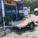 Proline zakbare motortrailer 260x155cm 750kg Aanhangwagens Zuid-Holland 2.0 vlak overzicht