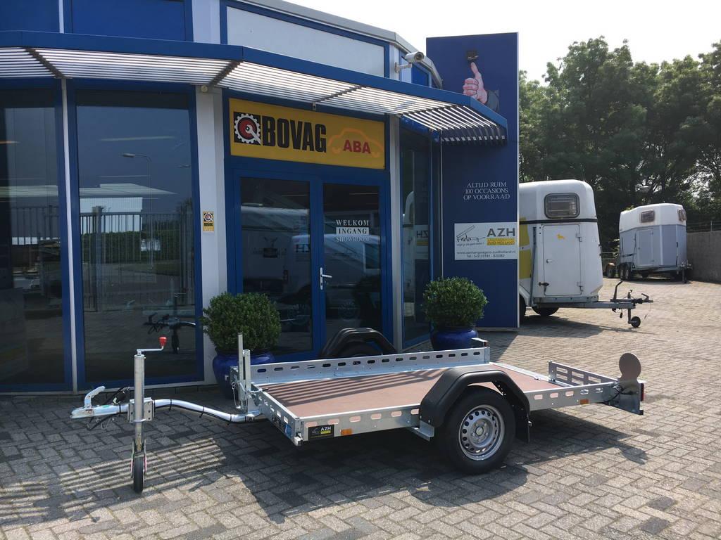Proline zakbare motortrailer 260x155cm 750kg Aanhangwagens Zuid-Holland 2.0 vlak zijkant