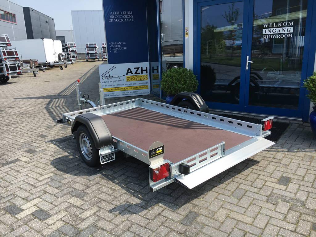 Proline zakbare motortrailer 260x155cm 750kg Aanhangwagens Zuid-Holland 2.0 vlak