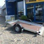 Proline zakbare motortrailer 260x155cm 750kg Aanhangwagens Zuid-Holland 2.0 zijkant