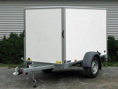 Saris gesloten 256x134x150cm Aanhangwagens Zuid-Holland hoofd