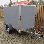 Saris gesloten 256x134x150cm Aanhangwagens Zuid-Holland overzicht
