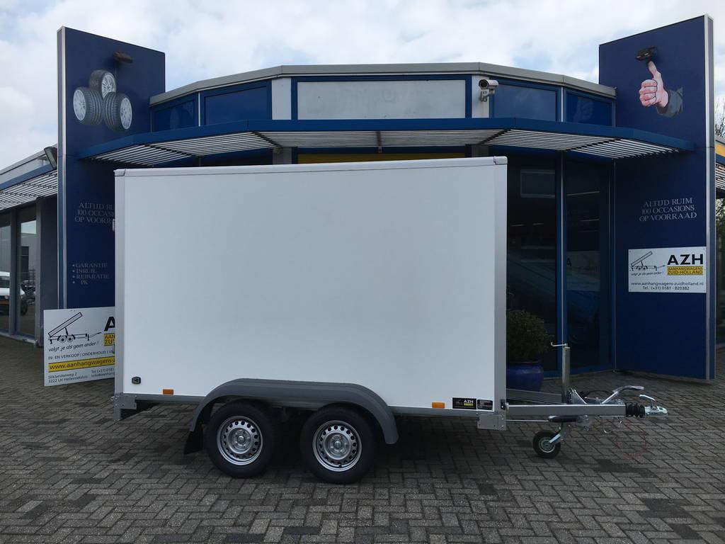 Saris gesloten 306x154x180cm 2000kg Aanhangwagens Zuid-Holland zijkant