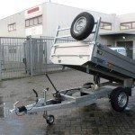 Saris kipper 255x135cm 1400kg kipper Aanhangwagens Zuid-Holland achterwaarts kiepen
