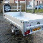 Saris kipper 255x135cm 1400kg kipper Aanhangwagens Zuid-Holland achterzijde