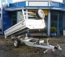 Saris kipper 255x135cm 1400kg kipper Aanhangwagens Zuid-Holland hoofd