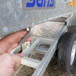 Saris kipper 255x135cm 1400kg kipper Aanhangwagens Zuid-Holland touwhaken