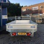 Saris kipper 270x150cm 2000kg kippers Aanhangwagens Zuid-Holland achterkant 2.0