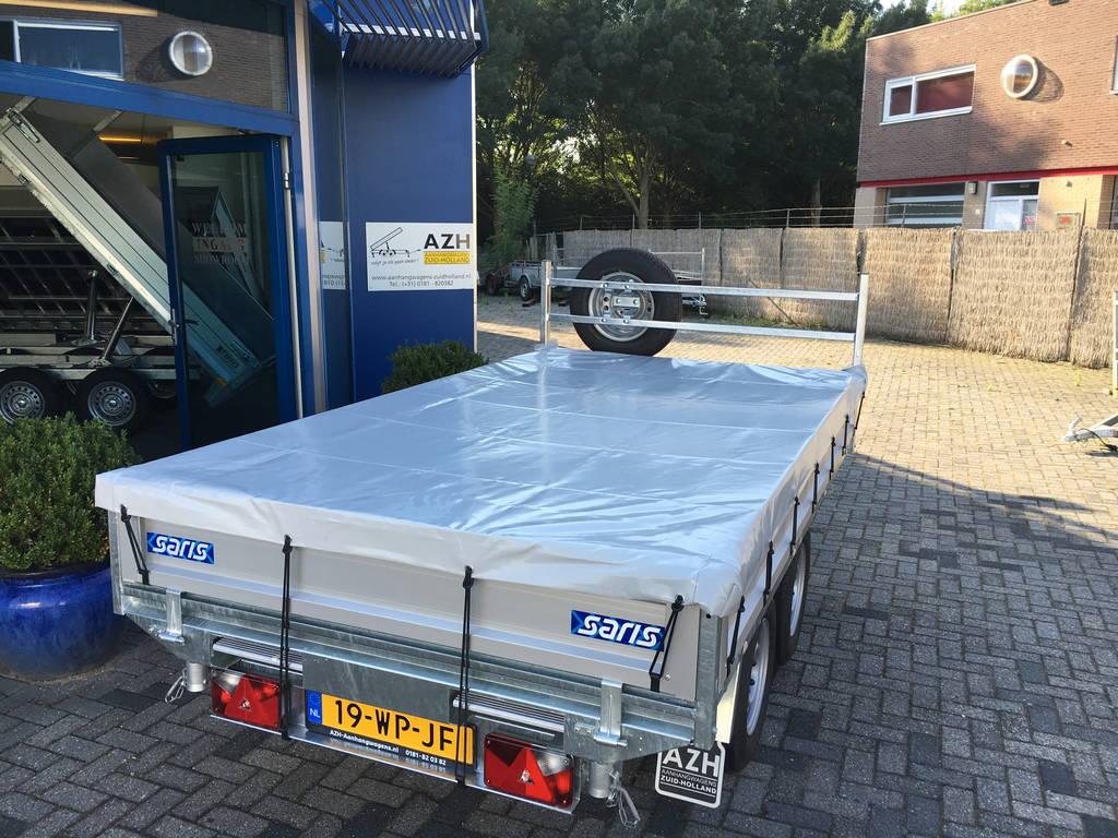 Saris kipper 270x150cm 2000kg kippers Aanhangwagens Zuid-Holland dicht zeil 2.0