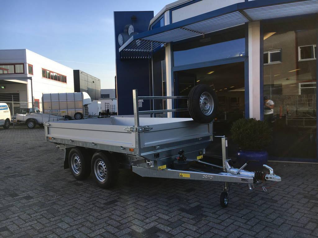 Saris kipper 270x150cm 2000kg kippers Aanhangwagens Zuid-Holland voorkant laag 2.0