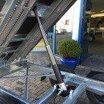 Saris kipper 270x150cm 2000kg kippers Aanhangwagens Zuid-Holland omhoog detail 2.0