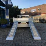 Saris kipper 270x150cm 2000kg kippers Aanhangwagens Zuid-Holland rijplaten achterkant 2.0
