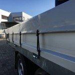 Saris kipper 270x150cm 2000kg kippers Aanhangwagens Zuid-Holland zeil zijkant 2.0