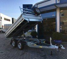 Saris kipper 270x150cm 2000kg kippers Aanhangwagens Zuid-Holland hoofd 2.0