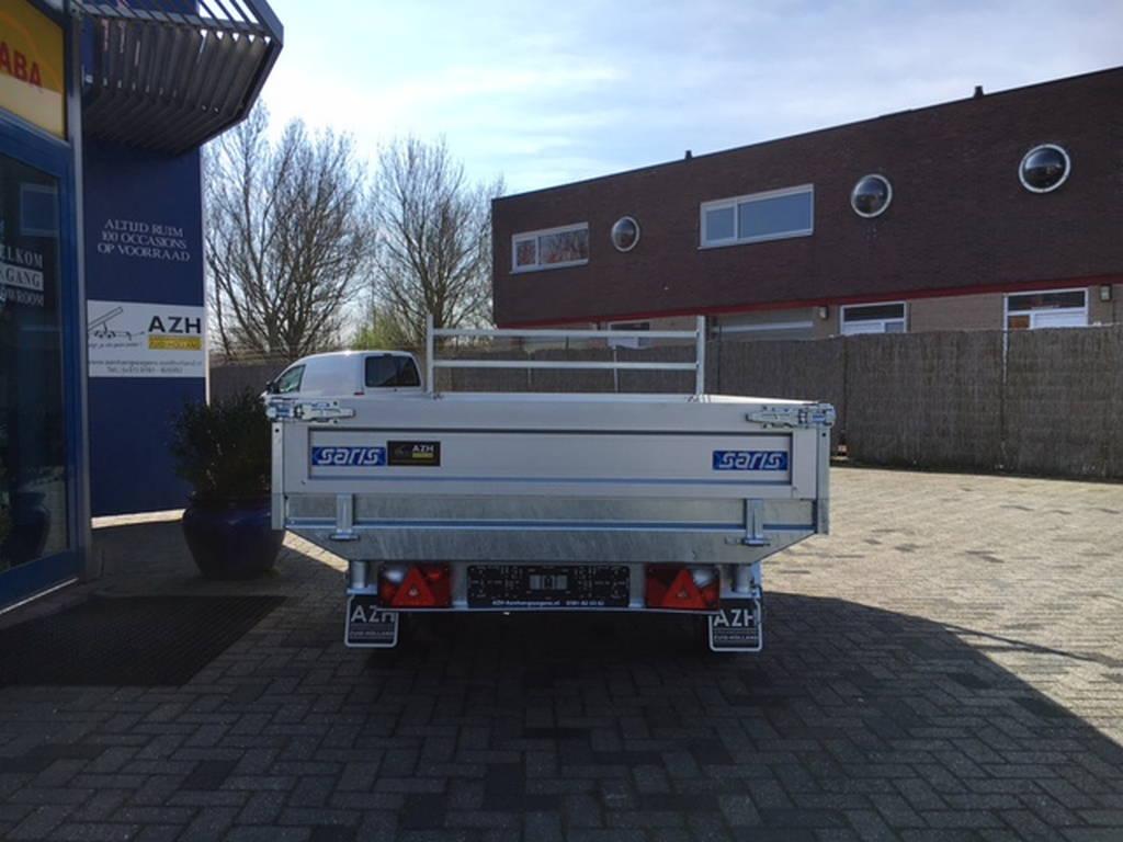 Saris kipper 306x170cm 2700kg kippers Aanhangwagens Zuid-Holland nw achterkant