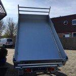 Saris kipper 306x170cm 2700kg kippers Aanhangwagens Zuid-Holland nw bak