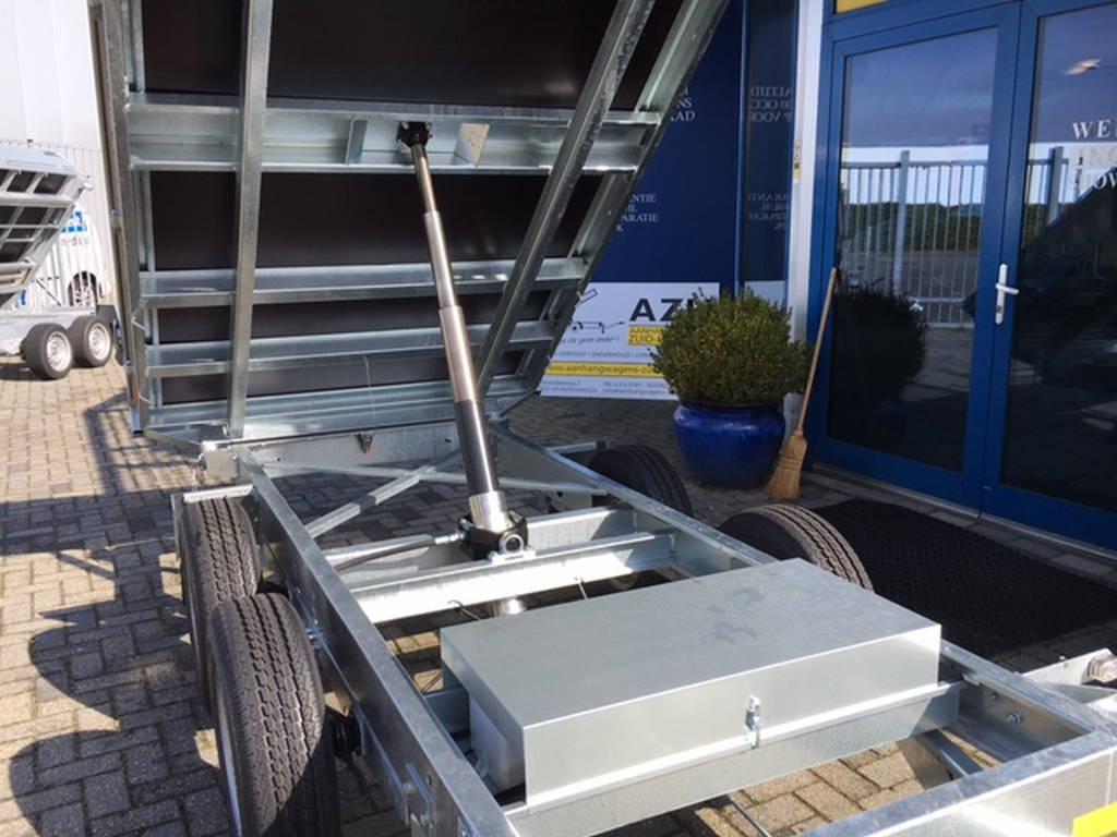Saris kipper 306x170cm 2700kg kippers Aanhangwagens Zuid-Holland nw cilinder