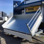 Saris kipper 306x170cm 2700kg kippers Aanhangwagens Zuid-Holland nw geopend