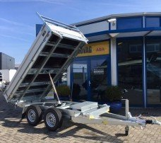 Saris kipper 306x170cm 2700kg kippers Aanhangwagens Zuid-Holland nw hoofd