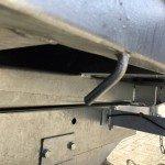 Saris kipper 306x170cm 2700kg kippers Aanhangwagens Zuid-Holland nw touwhaken